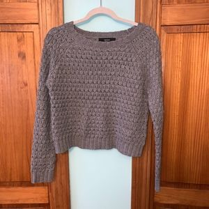 Forever 21 Sweaters - FOREVER 21 Gray Chunky Sweater S